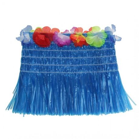 Топ гавайский синий