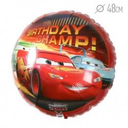 A 18 Круг Тачки День рождения Чемпиона в упаковке / Cars Birthday Champ S60 / 1 шт / (США)