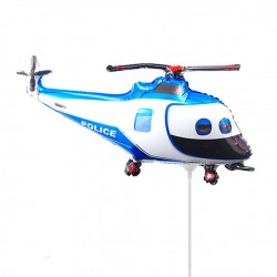 Вертолет полицейский 35см