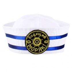 """Шляпа юнга детская """"Будущий моряк"""""""