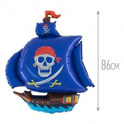 И 41 Пиратский корабль (синий) / Pirate Ship / 1 шт / (Испания)