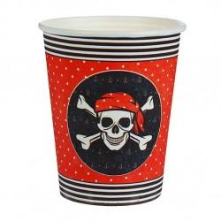 Набор стаканов Пираткий 10шт