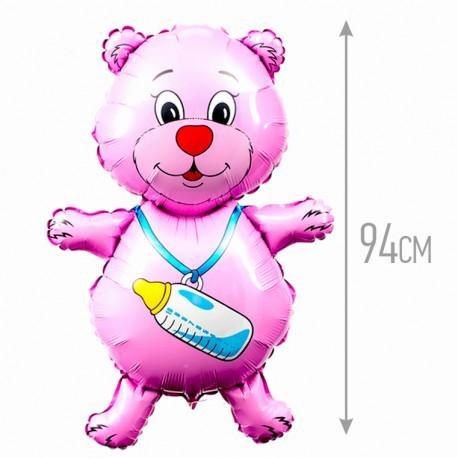 И 37 Медвежонок девочка (фуксия) / Bear girl / 1 шт / (Испания)