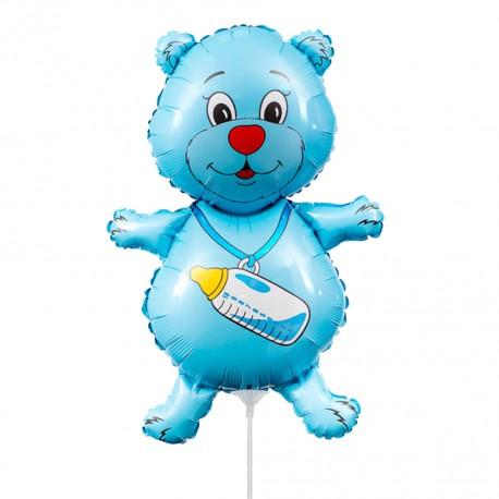 И 14 Медвежонок мальчик (синий) / Bear boy / 1 шт / (Испания)