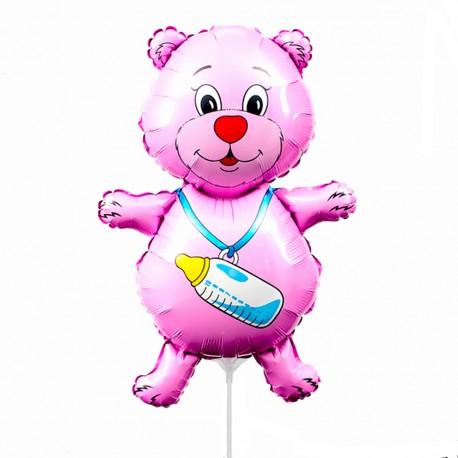 И 14 Медвежонок девочка (фуксия) / Bear boy / 1 шт / (Испания)
