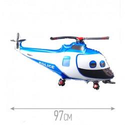 Шар Вертолет полицейский 97см