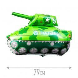Шар Танк зеленый 97см