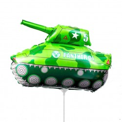 Шар Танк зеленый 35см