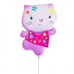 И 14 Котенок (розовый) / Little cat / 1 шт / (Испания)