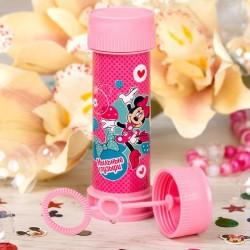 """Мыльные пузыри """"Минни Маус"""" розовая, 45 мл 1864553"""