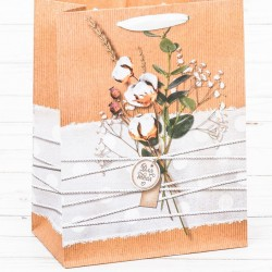 Пакет вертикальный крафт «Нежность для тебя», S 15 х 12 х 5,5 см 2942179