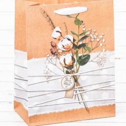 Пакет вертикальный крафт «Нежность для тебя», MS 18 х 23 х 10 см 2942180