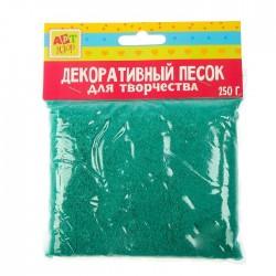 """Песок декоративный """"Изумруд"""" 250 гр 1265308"""