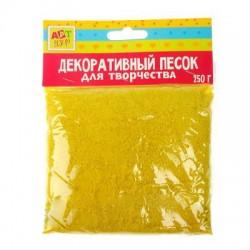 """Песок декоративный """"Жёлтый"""" 250 гр"""