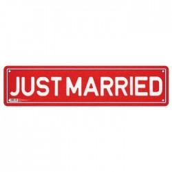 """Наклейка на номер """"Justmarried"""" 3396314"""