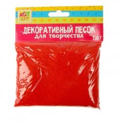 """Песок декоративный """"Красный"""" 250 гр"""