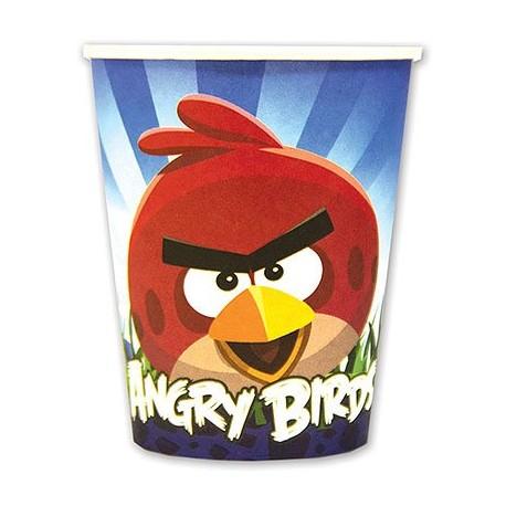 Набор стаканов Angry Birds 8шт