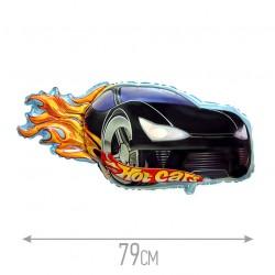 Шар Hot Car черный 79см