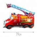 Шар Пожарная машина 78см