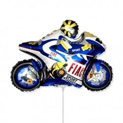 И 14 Мотоцикл (синий) / Motor bike / 1 шт / (Испания)