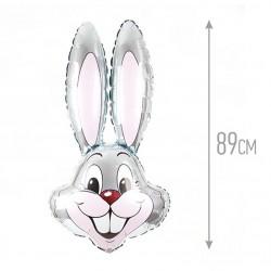 И 35 Заяц (серый) / Rabbit / 1 шт / (Испания)