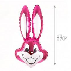 И 35 Заяц (фуксия) / Rabbit / 1 шт / (Испания)