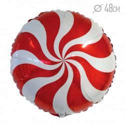 И 18 Круг Карамель (красный) / Candy Red / 1 шт / (Испания)