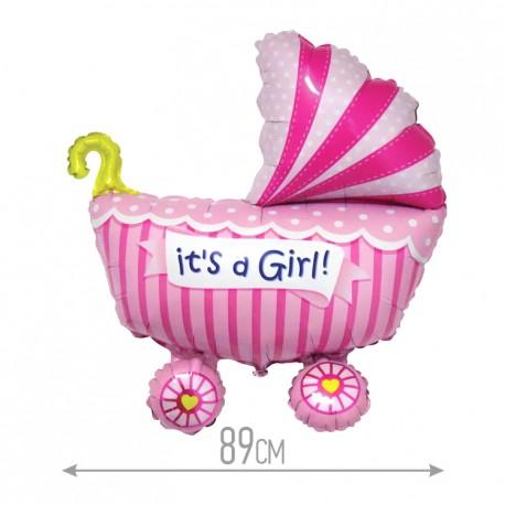 И 36 Коляска Это девочка / Baby buggy girl / 1 шт / (Испания)