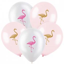 Т 12 Фламинго, Ассорти Пастель-Кристал 2 ст. / 100 шт/ (Турция)