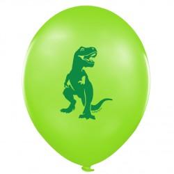 """Шар с рисунком 12"""" Динозавр 100шт"""