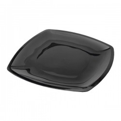 Тарелка квадратная плоская,Черная,300мм, 3шт/уп BUFFET РОССИЯ