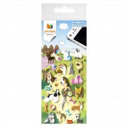 Наклейка дек бумаж Кошки и собаки 1 70*160