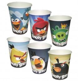 Стаканы бумажные Angry Birds 6шт
