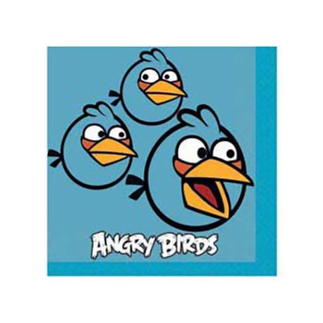 Салфетки Angry Birds 25см 16шт