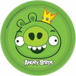 Набор тарелок Angry Birds 17см 8шт