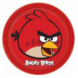 Набор тарелок Angry Birds 23см 8шт