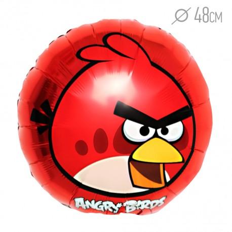 Шар Angry Birds Красная 48см