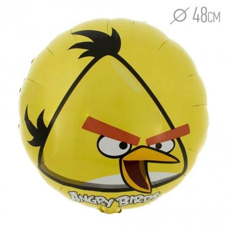 Шар Angry Birds Желтый 48см