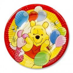 Набор тарелок Винни Пух и друзья 20см 8шт
