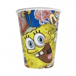 Набор стаканов Губка Боб 8шт