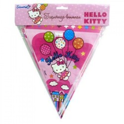 Гирлянда Hello Kitty 360см