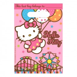 Пакет полиэтиленовый Hello Kitty 23х16см 8шт
