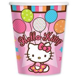 Набор стаканов Hello Kitty 8шт