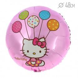 """Шар воздушный фольга 18"""" STREET Hello Kitty V45"""