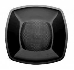 Набор тарелок Buffett квадратные черные 18см 6шт