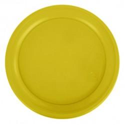 Набор тарелок темно-желтые 21см 10шт