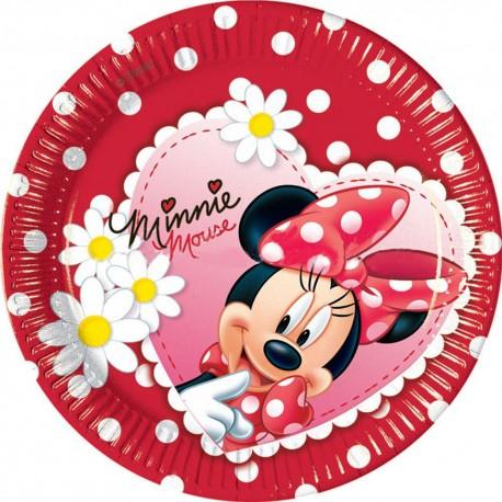 Набор тарелок Минни Ромашки
