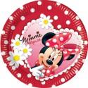 Набор тарелок Минни Ромашки 20см 10шт