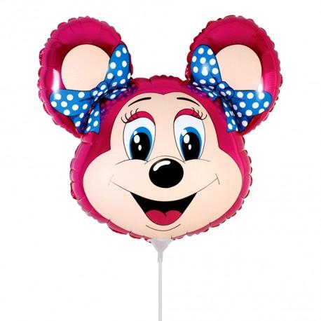 И 14 Лолли-мышонок (фуксия) / Mouse / 1 шт / (Испания)