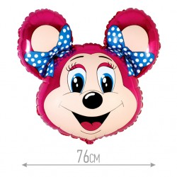 И 30 Лолли-мышонок (фуксия) / Mouse / 1 шт / (Испания)